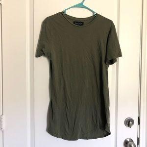 Pacsun green shirt